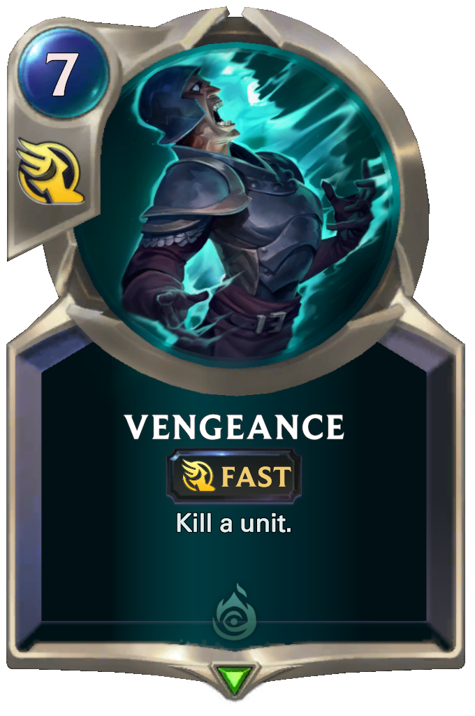 Legends of Runeterra Vengeance Card