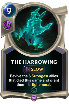 The Harrowing Card Image