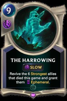 Legends of Runeterra The Harrowing Card