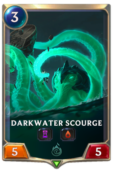 Legends of Runeterra Darkwater Scourge Card