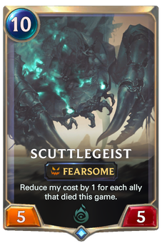 Legends of Runeterra Scuttlegeist Card