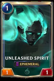 Legends of Runeterra Unleashed Spirit Card