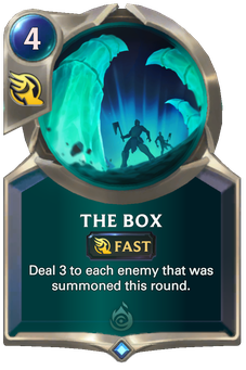 Legends of Runeterra The Box Card