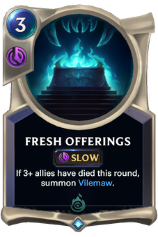 Fresh Offerings Card Image