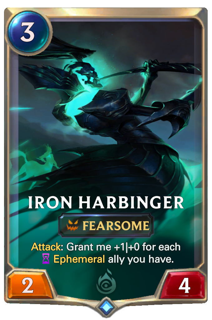 Iron Harbinger Card Image
