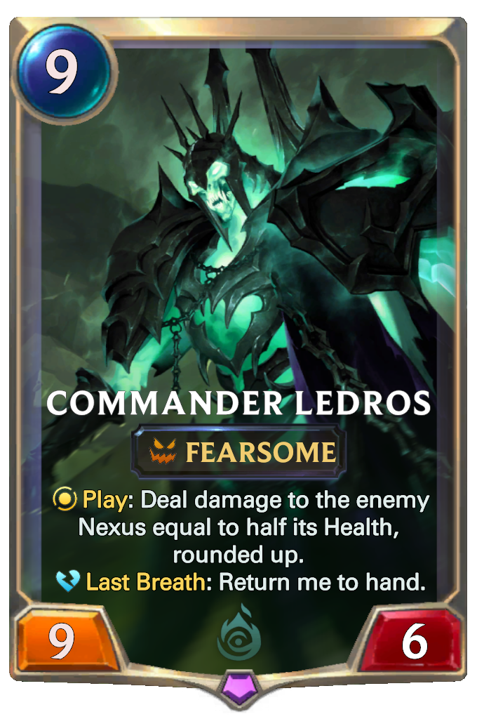 Commander Ledros Card Image