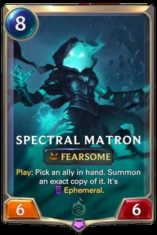 Legends of Runeterra Spectral Matron Card