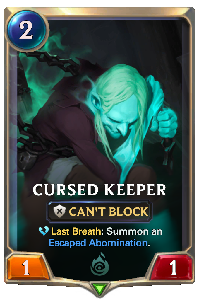 Cursed Keeper Card Image