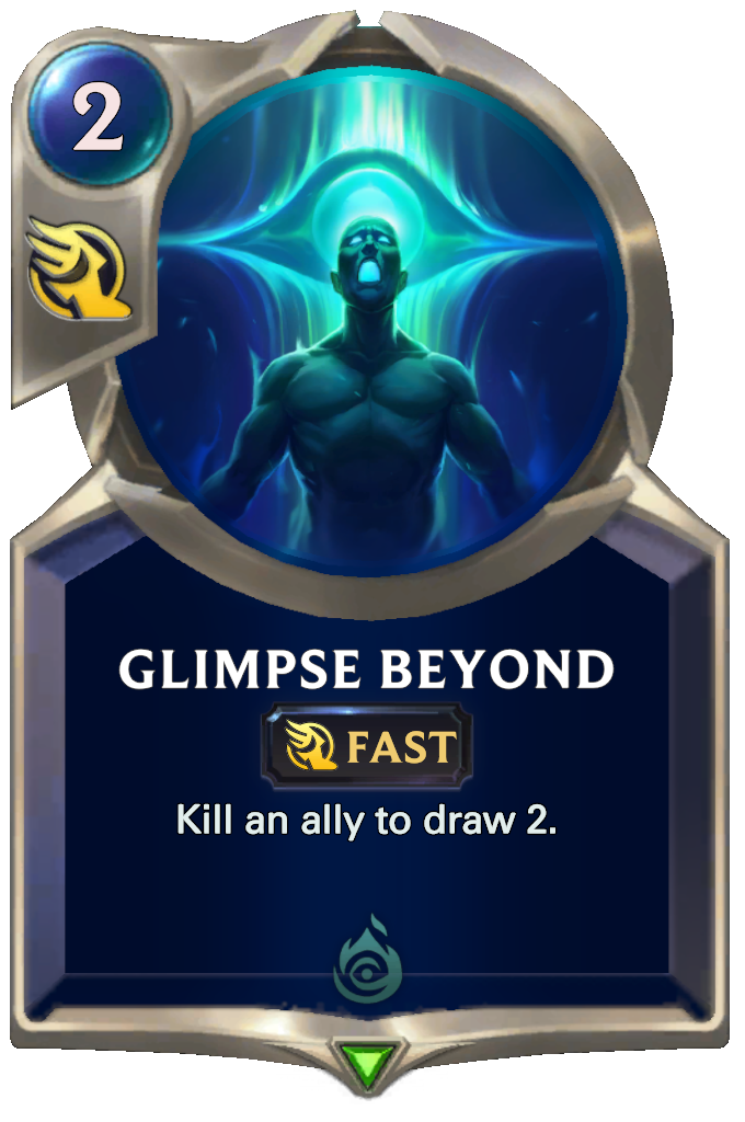 Legends of Runeterra Glimpse Beyond Card