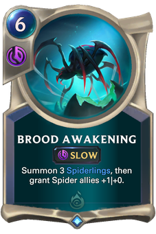 Legends of Runeterra Brood Awakening Card