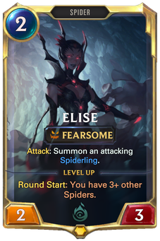 Legends of Runeterra Elise Card