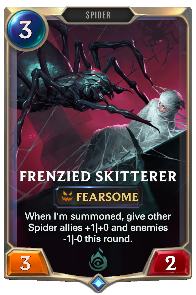 Frenzied Skitterer Card Image