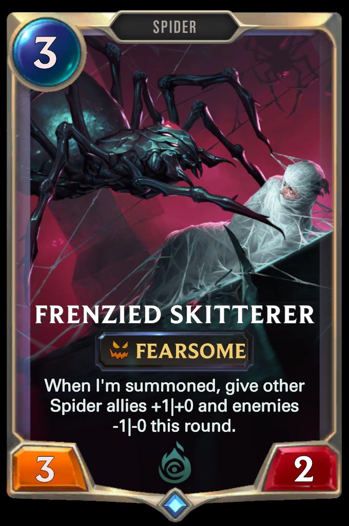 Legends of Runeterra Frenzied Skitterer Card