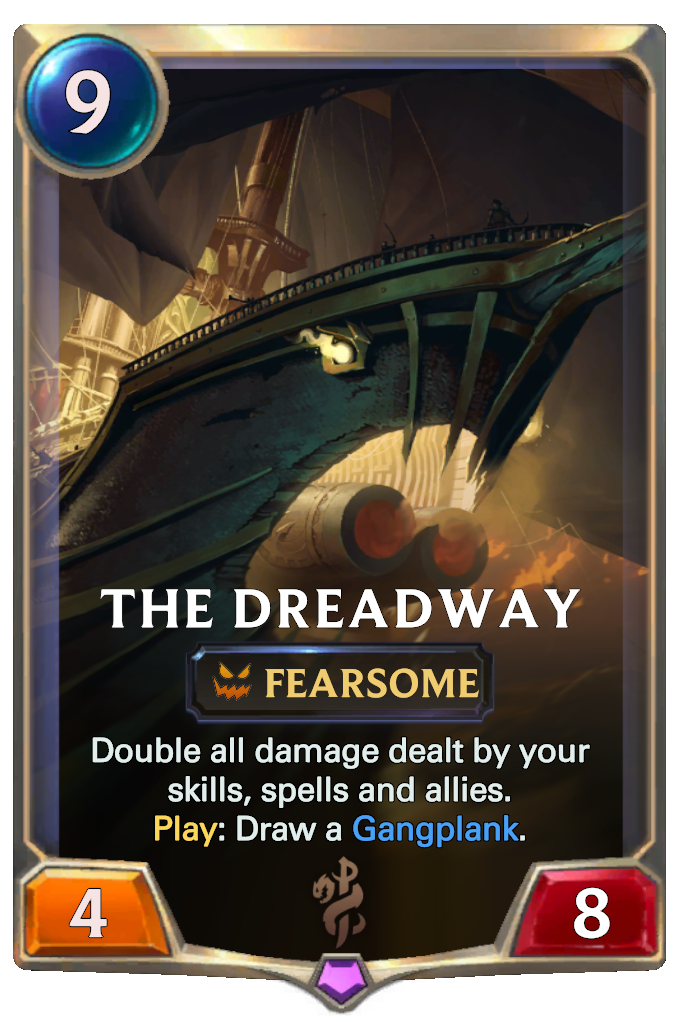 Legends of Runeterra The Dreadway Card