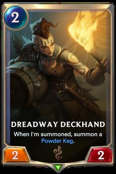 Legends of Runeterra Dreadway Deckhand Card