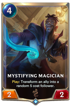 Legends of Runeterra Mystifying Magician Card