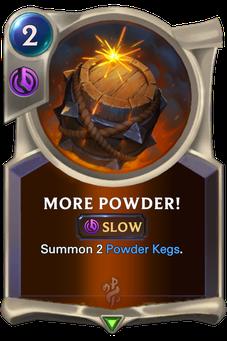 Legends of Runeterra More Powder! Card