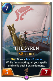 The Syren Card Image