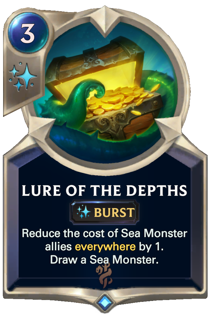 Legends of Runeterra Lure of the Depths Card