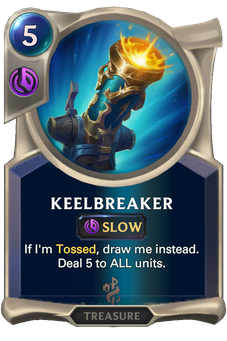 Legends of Runeterra Keelbreaker Card