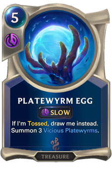 Platewyrm Egg Card