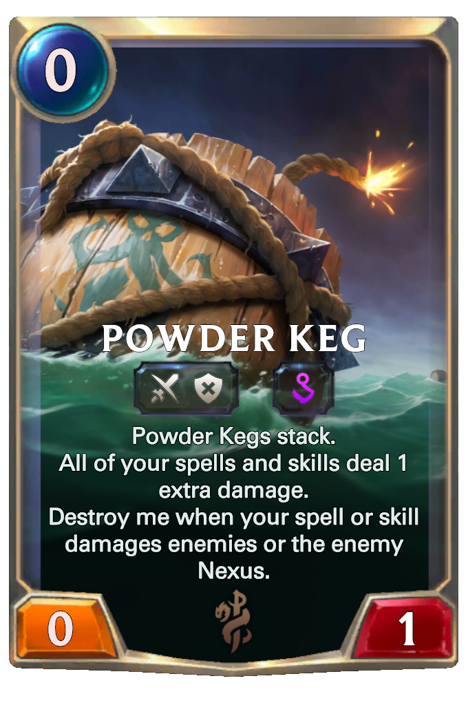 Powder Keg Card