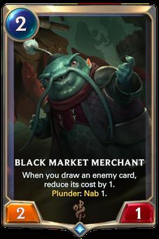 Legends of Runeterra Black Market Merchant Card
