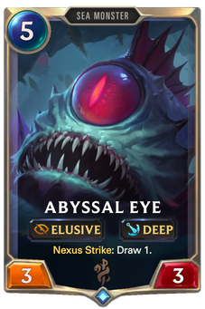 Legends of Runeterra Abyssal Eye Card