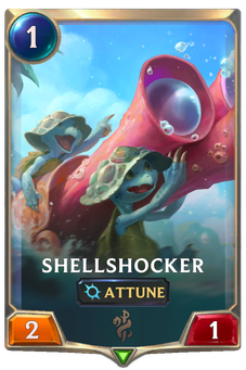 Legends of Runeterra Shellshocker  Card