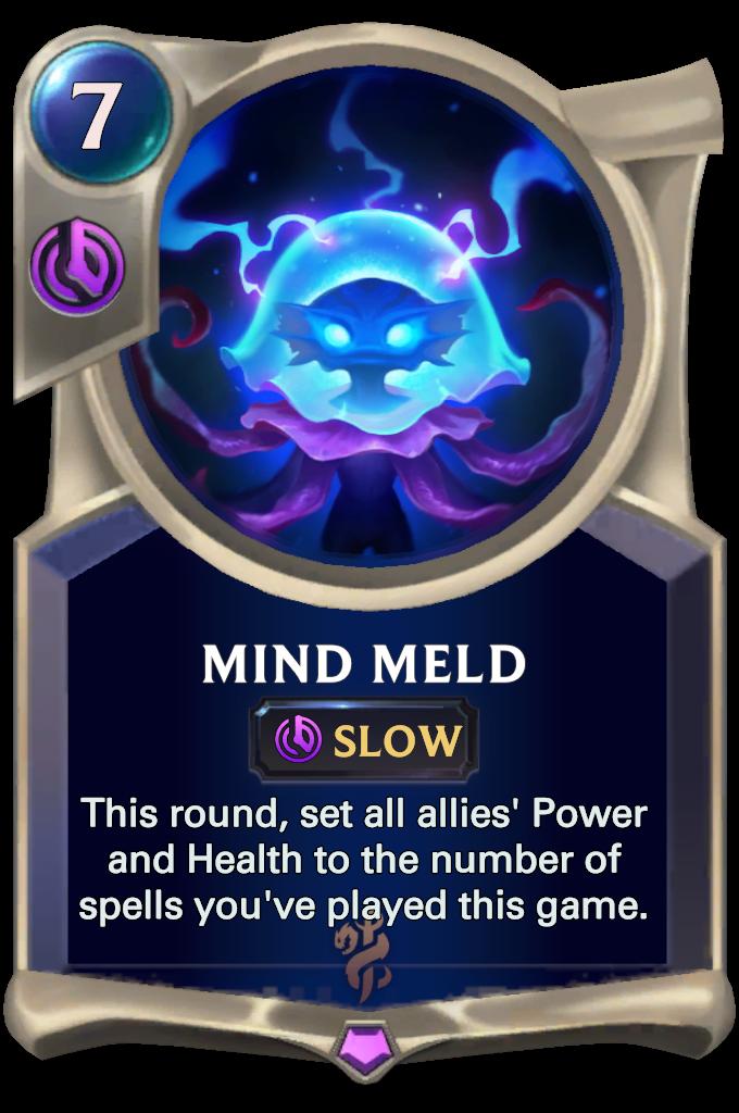 Legends of Runeterra Mind Meld Card