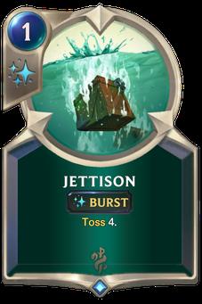 Legends of Runeterra Jettison Card
