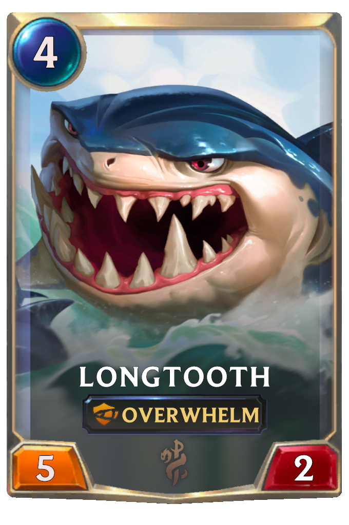 Longtooth Card