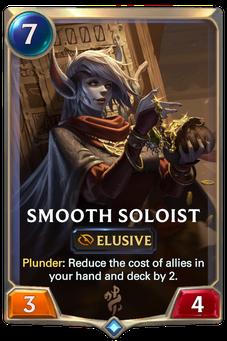 Legends of Runeterra Smooth Soloist Card