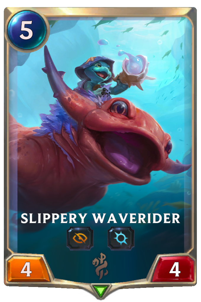 Legends of Runeterra Slippery Waverider Card