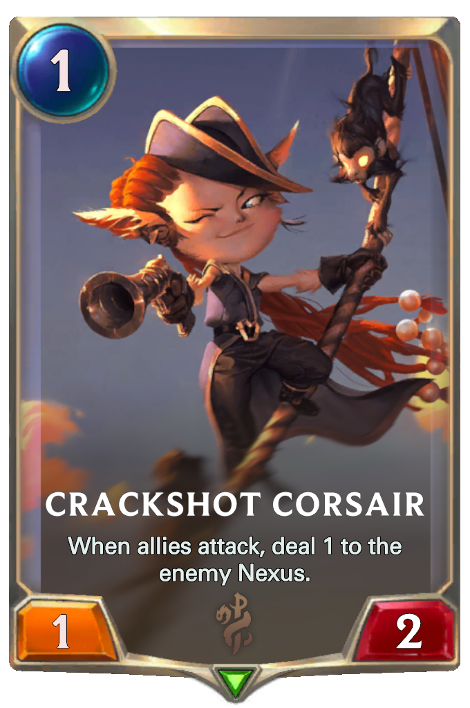 Crackshot Corsair Card Image
