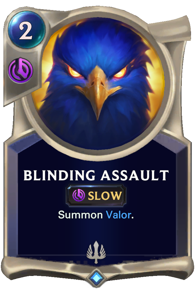 Legends of Runeterra Blinding Assault Card