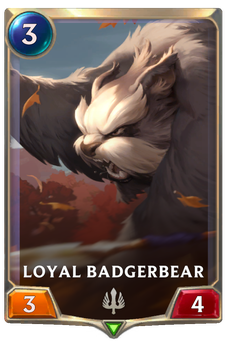 Loyal Badgerbear Card Image