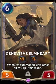 Legends of Runeterra Genevieve Elmheart Card