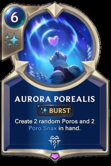 Legends of Runeterra Aurora Porealis Card