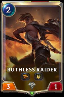 Legends of Runeterra Ruthless Raider Card