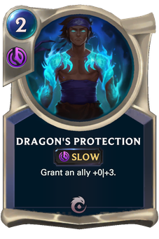 Legends of Runeterra Dragon's Protection Card