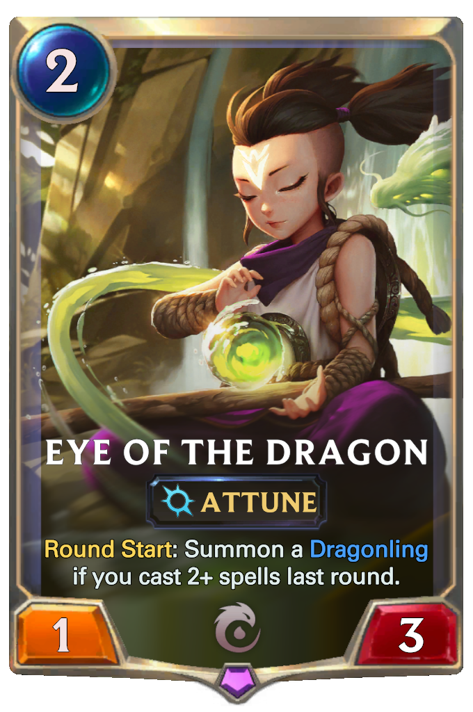 Eye of the Dragon Card Image