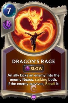 Legends of Runeterra Dragon's Rage Card
