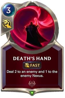 Legends of Runeterra Death's Hand Card