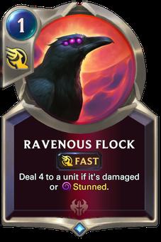 Legends of Runeterra Ravenous Flock Card