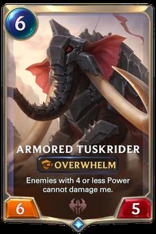 Armored Tuskrider Card Image