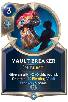 Legends of Runeterra Vault Breaker Card