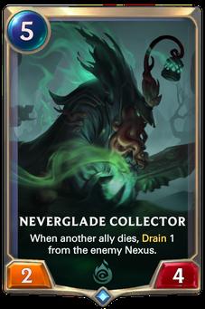Legends of Runeterra Neverglade Collector Card