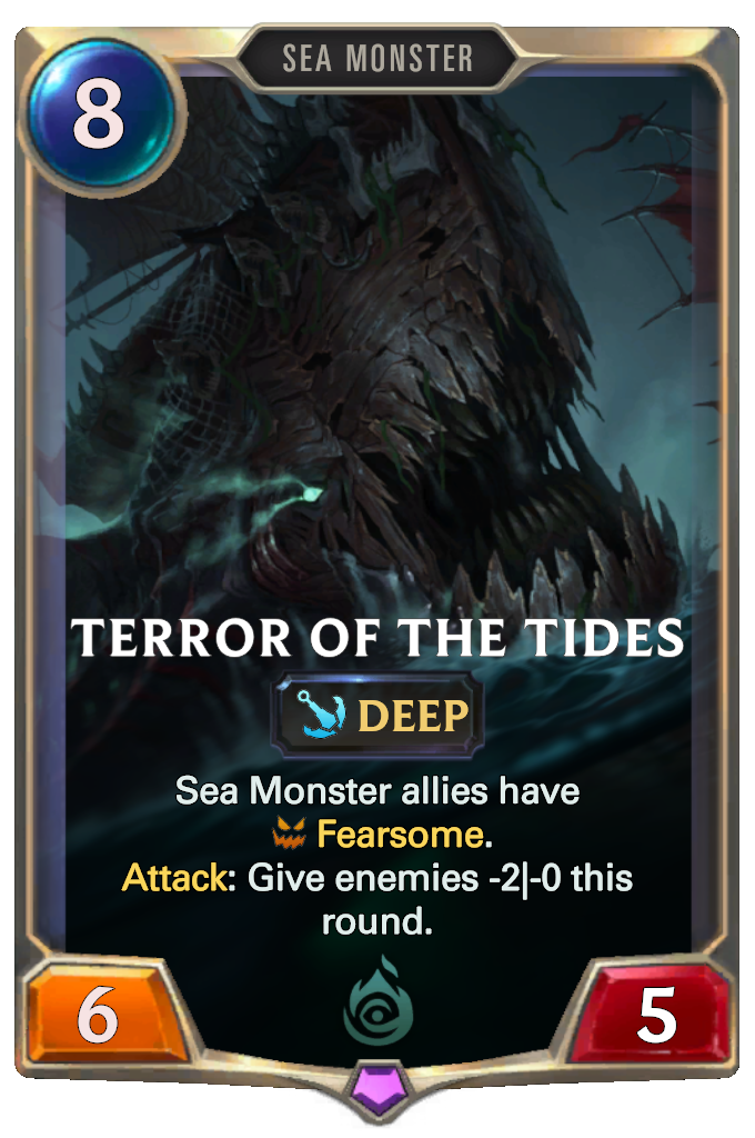Legends of Runeterra Terror of the Tides Card