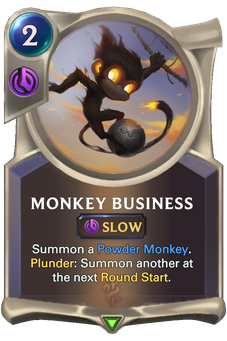 Legends of Runeterra Monkey Business Card